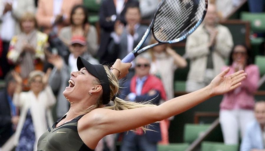 A Career Weekend for Sharapova