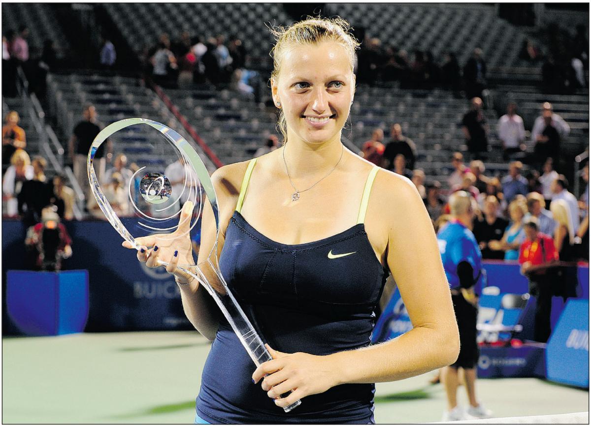 Petra Kvitova Wins Rogers Cup Title
