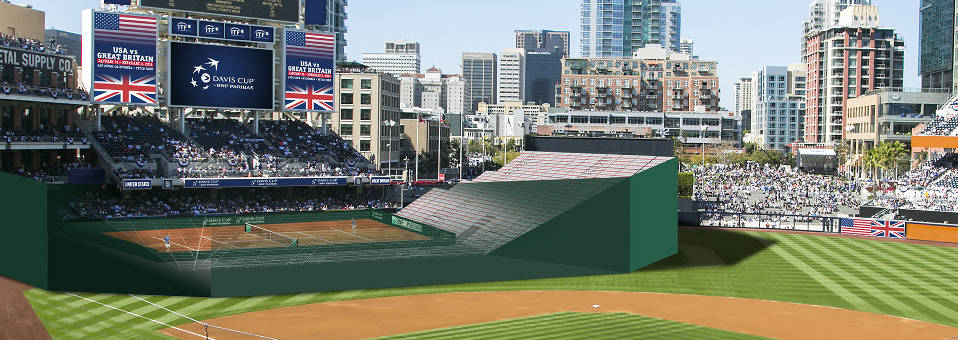 U.S. Hosts 2014 Davis Cup at Petco Park
