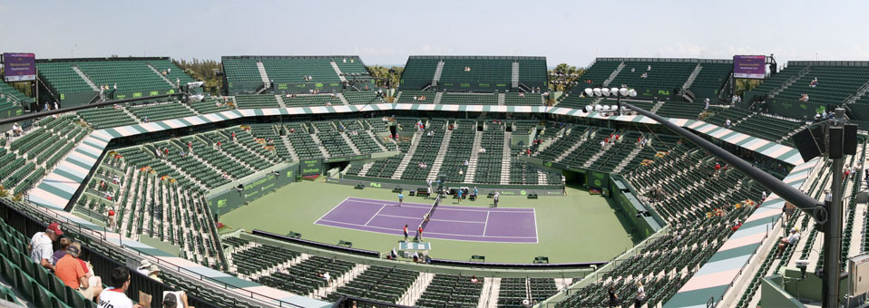 Seating Guide: Tennis Center At Crandon Park