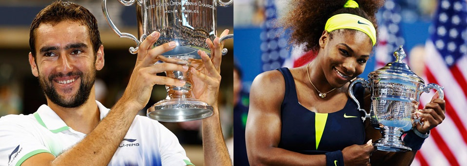 Marin Cilic and Serena Williams Win 2014 US Open