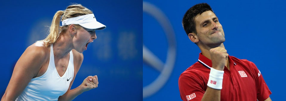 Djokovic & Sharapova Win 2014 China Open