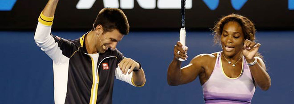 Serena Williams and Novak Djokovic Win 2015 Australia Open