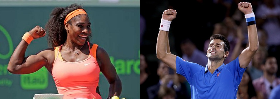 Djokovic and Williams Winners of 2015 Miami Open