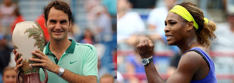 Federer & Williams win 2015 Western & Southern Open