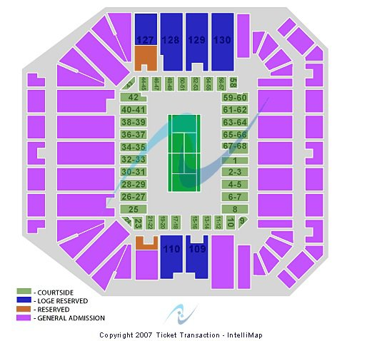 Louis Armstrong Stadium seating chart