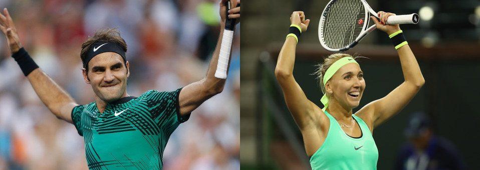 Federer, Vesnina win 2017 BNP Paribas Open