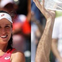 Johanna Konta, Roger Federer win 2017 Miami Open
